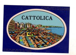 CATTOLICA RIMINI Adesiva Raro - Rimini