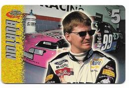 Racing, NASCAR, Jeff Burton, Sprint $5 Calling Card, Expired In 1997, # Racing-29 - Sport