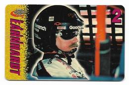Racing, NASCAR, Dale Earnhardt, Sprint $2 Calling Card, Expired In 1997, # Racing-30 - Sport