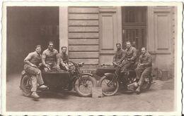 CARTE PHOTO MOTO ANCIENNE Moto Side Car - - Motorbikes