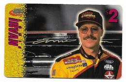 Racing, NASCAR, Ernie Irvan, Sprint $2 Calling Card, Expired In 1997, # Racing-36 - Sport