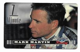 Racing, NASCAR, Mark Martin, Sprint 1 Minute Calling Card, Expired In 1995, # Racing-42 - Sport
