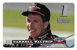Racing, NASCAR, Darrell Waltrip, Sprint 1 Minute Calling Card, Expired In 1995, # Racing-46 - Sport