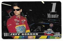 Racing, NASCAR, Jeff Gordon, Sprint 1 Minute Calling Card, Expired In 1995, # Racing-49 - Sport
