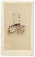 CDV Photo Foto Um 1865/70 - W. Wallnau, Berlin - Junger Soldat - War, Military