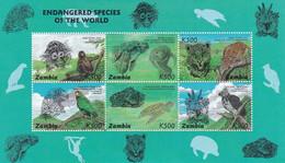 Zambia Nº 631 Al 636 - Zambia (1965-...)