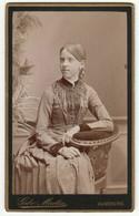 CDV Photo Foto Um 1890 - Gebr. Martin, Augsburg - Hübsches Junges Mädchen - Old (before 1900)