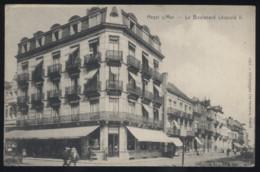 CPA - (Belgique) Heyst Sur Mer - Le Boulevard Léopold II - Heist