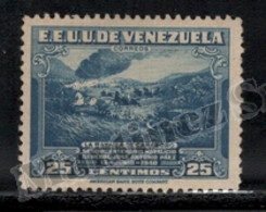 Venezuela 1940 Yvert 228, War. Carabobo Battle. Famous People. General, Jose Antonio Paez - MNH - Venezuela
