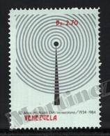 Venezuela 1984 Yvert 1156, Communications. 50th Anniv Venezuelan Radio Club - MNH - Venezuela