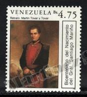 Venezuela 1988 Yvert 1413, Famous People. General Santiago Mariño - MNH - Venezuela