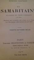 La Samaritaine EDMOND ROSTAND Eugène Fasquelle 1910 - Books, Magazines, Comics
