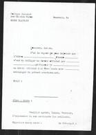 Collège Michelet Beauvais , Punition Devoir Scolaire , Années 70-80 - Diploma & School Reports