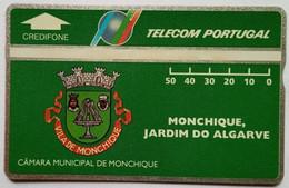 Portugal 50 Units Camara Municipal De Monchique, Jardim Do Algarve ( 417A ) - Portugal