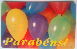 Portugal 50 Units Parabens ( Balloons ) - Portugal