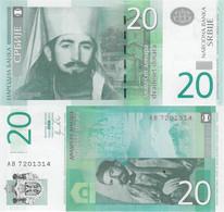 Serbia 2011 - 20 Dinars - Pick 55a UNC - Serbia