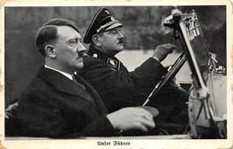 Foto AK 2. WK DR WW2 Ca. 1933-194555 Unser Führer Adolf Hitler Als Beifahrer In PKW - Nuovi
