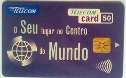 Portugal 50 Units Seu Lugar No Centro Do Mundo - Portugal