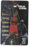 Worldcom U.S.A., Basketball, Michael Jordan, 20 Minutes Calling Card, # Mj-5,  Expired, No Value - Sport
