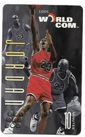 Worldcom U.S.A., Basketball, Michael Jordan, 10 Minutes Calling Card, # Mj-6,  Expired, No Value - Sport