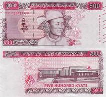 Myanmar 2020 - 500 Kyat - Pick NEW UNC - Myanmar