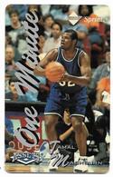 Sprint U.S.A., Basketball, Tamal Mashburn, 1 Minute Calling Card, # Basket-3,  Expired In 1996, No Value - Sport