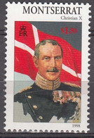 Montserrat 1998 King Christian X 1912-1947  Michel 1046  MNH 28161 - Montserrat