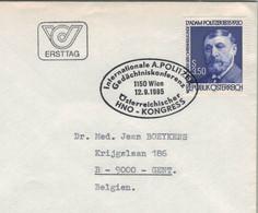 1150 Wien 1985 - Adam Politzer Reformer Der Ohrenheilkunde - HNO-Kongress & Gedächtniskonferenz Otologie - Medizin