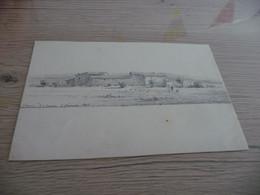 Dessin Original Signé Paul Faugier Mine De Plomb Ou Crayon Peintre Du Vaucluse Chemin De Serve 1875 - Dessins