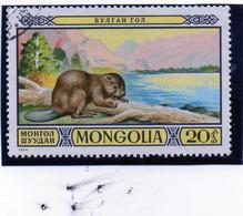 B - 1974 Mongolia - Il Castoro - Mongolia