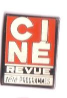 U159 Pin's Média Presse Journal Cinéma Théâtre Ciné Revue Programme Télé Télévision Achat Immédiat - Cinema