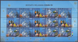 Indonesia - Indonesie New Issue 17-08-2020 Covid-19 Perforated (Vel) - Indonesia