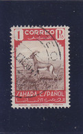 SPANISH SAHARA - SAHARA ESPAÑOL - 1943 - O/FINE CANCELLED - GAZELLE - Mi 102 - Sahara Spagnolo