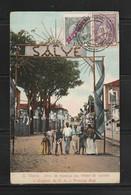 Portugal St.Thomas & Prince 1921 Used Postcard To Germany - St. Thomas & Prince