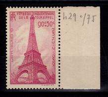 YV 429 Tour Eiffel N** Cote 17 Euros - Ungebraucht