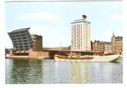 Danmark - Kobenhavn - Copenhagen - Langebro Med Hotel Europa - Schiff - Ship - Bridge - Brücke - Dinamarca