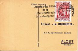LUXEMBOURG. Flamme De 1967 Sur Carte Ayant Circulé. Loterie. - Spiele