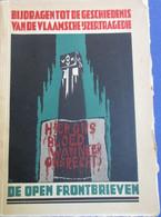 De Open Frontbrieven -  Eerste Wereldoorlog - Vlaamse Beweging - Diksmuide - Guerra 1914-18
