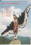 CHEROKEE ALPHABET - Written By Sequoyah,  Used, Nice Stamp - Indianer