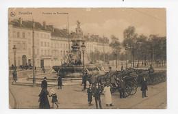 """Bruxelles  Fontaine De Brouckère ( Reclame : Pain D'Epices """"L'AIGLE""""  St-NICOLAS Waes ) - Bruxelles-ville"""