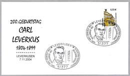 Quimico Y Farmaceutico CARL LEVERKUS (1804-1899). Leverkusen 2004 - Pharmacie