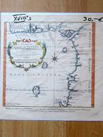 Carte Du Golfe De Guinée 1798 - Geographical Maps