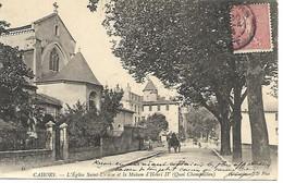 Carte Postale - CPA Dpt N°46 LOT - Ecrite Et Datée De 1905 - CAHORS - L'Eglise Saint-Urcisse Et La Maison D'Henri IV ... - Cahors
