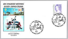 CONGRESO SOCIEDAD QUIMICA ITALIANA - Italian Chemical Society Congress. Lecce 2011 - Chemistry