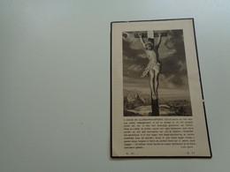 Doodsprentje  ( 3099 )  Van Valckenborgh  /  Verpaelst    -  Liedekerke  Meerbeke     1937 - Todesanzeige