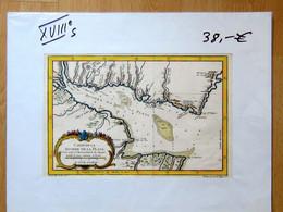 Carte De La Rivière De La Plata (XVIII E Siecle) - Geographical Maps