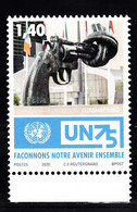 Luxemburg 2020 , Mi Nr ??,  75 Jaar United Nations, Kunst Van Carl Frederik Reutersward - Unused Stamps