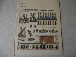 Protège Cahier, Le SEMAPHORE DE CONSTANTINOPLE, Fin XIX - Book Covers