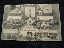 CPA - Fontenay Le Comte (85) - 7 Vues - Souvenir - 1915 - SUP (DS 26) - Fontenay Le Comte