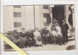 Photographie / à Localiser / Hotel De Londres, Tenu Par Berthon, Le Banc Des Touristes, Datée 1911 - Fotografía